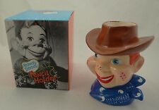 "VINTAGE HOWDY DOODY PENCIL HOLDER ~ 1988 Leadworks 7"" Porcelain Figure/Mug ~ NEW"