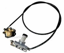 New Go-kart Parts Brake Master Cylinder Kit, KD80TBRKIT  with Caliper and Hose