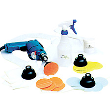CRL 3M Trizact Scratch Removal Starter Kit for Curved Glass Us...