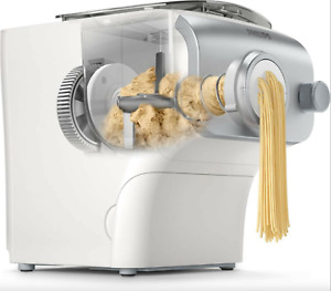 The Philips Avance Pasta and Noodle Maker Plus w/ 4 Shaping Discs, White
