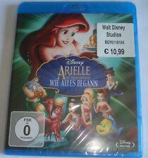 Arielle die Meerjungfrau wie alles begann Neu OVP Disney  Blu Ray
