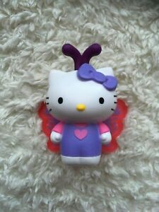 Used NO BAG 2019 McDonald's Hello Kitty #5 BUTTERFLY Happy Meal Toy