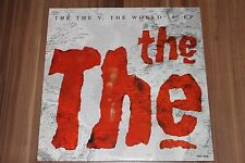 "The The - The The V. The World 10"" EP (1989) (Vinyl 10"") (Epic ‎– EMU QT10)"