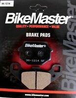 Rear Brake Pads BikeMaster S3017 for Kawasaki  KLR650 2003 2004 2005 2006 2007