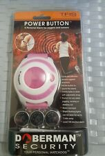DOBERMAN SECURITY ALARM POWER BUTTON a Personal Alarm For Joggers And Runners