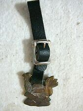 Antique THE AULTMAN & TAYLOR MACHINERY CO. Nice Watch Fob Original, Leather