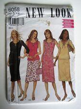 NEW LOOK #6058 VINTAGE PATTERN- KNIT DRESS