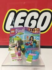 3931 Lego Emma's Splash Pool complete instructions swimming friends
