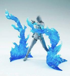 EFFECT BURNING FLAME Blue D-Art Figma Kamen Rider gundam 1/6 figure hot toys