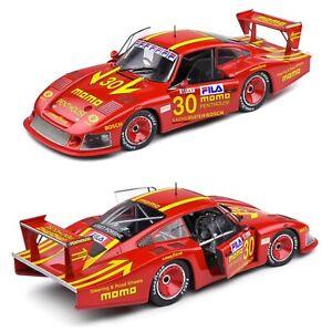 1/18 Solido Porsche 935 Mobydick 24h LeMans 1982 Moretti Livrais Domicile Mi Mai