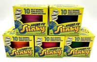 SOUND FX SLINKY - CHOOSE YOUR COLOUR - 10 SILLY SOUND FX WALKING TOY BRAND NEW