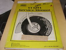 NOS Yamaha Service Manual YT60L YT60 LIT-11616-04-39