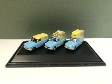 (Damaged Box) Oxford Diecast 76SET01 Ford Anglia Walls Ice Cream Set 1/76 Scale
