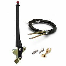 "Ford Black Transmission Mount Emergency Hand Brake Kit ~ 16"" w/ Cable Kit"