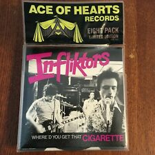 "Various 'Ace of Hearts Eight Pack' RARE 8 x 7"" Vinyl 45 Mission of Burma, Lyres"