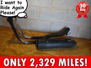 08 SUZUKI GS500 GS E F 500 EXHAUST MUFLER HEADER only 2,329 miles