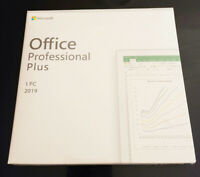 Microsoft Office 2019 Professional Plus Retail DVD for Windows 1PC