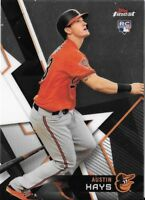 AUSTIN HAYS 2018 Topps Finest Base Card #11 ORIOLES RC Rookie