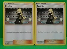 x2 Cynthia 119/156 - Uncommon Pokemon SM5 Ultra Prism Deck Building M/NM English
