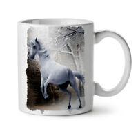 Horse Forest Wild Animal NEW White Tea Coffee Mug 11 oz | Wellcoda