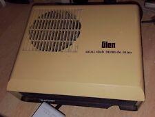 VINTAGE GLEN MINI CLUB DE LUXE 2000 FAN HEATER WORKING RARE SEE PICS