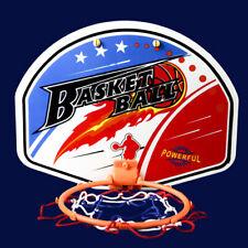 1X Kids Mini Indoor Basketball Hoop Set Over Door the Basket Ball Backboard G WK
