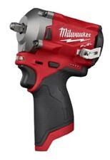 "Milwaukee 2554-20 M12 FUEL 12V Brushless 3/8"" Dr. Cordless Impact Driver"