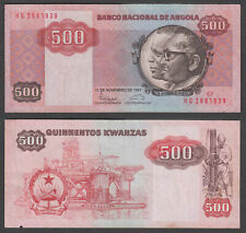 Angola 500 Kwanzas 1987 (VF) Condition Banknote P-120b