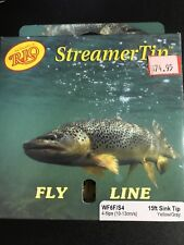 Rio Wf6F/S4 4-5ips (10-13cm/s) 15ft Sink Tip Yellow/Gray Fly Fishing Line