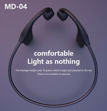Bone Conduction Headset Open Ear Bluetooth 5.0 Wireless Outdoor Sport Headphones