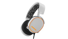 Steelseries Arctis 5 7.1 Surround RGB Gaming Headset - USB (White)