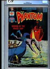 Harvey Hits #44 CGC 7.0 Off-White to White Pages Phantom