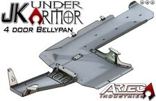 ARTEC Under Armor Belly Pan Kit - Raw for 12-17 Jeep Wrangler JKU 4 Door JK1010