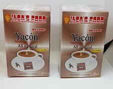 YACON 50 TEA  BAG HERBS 100% DIABETIS NATURAL BLOOD SUGAR REGULATOR FROM PERU