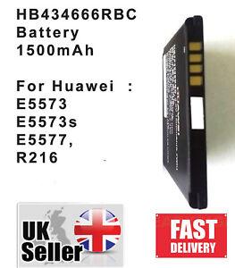 HB434666RBC Battery For Huawei E5573 E5573s E5577, R216 /1500mAh