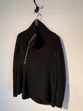 Rick Owens Black Cashmere Jacket
