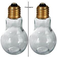 Salt And Pepper Bulb Shape Shaker Kitchen Light Pots Gift Tableware Dining