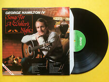 George Hamilton IV - Songs For A Winter's Night, Ronco RTL-2082 Ex+ Condition