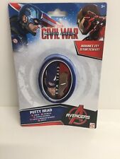 MARVEL AVENGERS CAPTAIN AMERICA SILLY PUTTY BOREDOM BUSTER SLIME CLAY BOUNCES