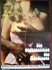 BLAXPLOITATION + DRUM + WARREN OATES + PAM GRIER + KEN NORTON + GERMAN 1-SH +