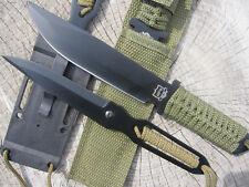 Outdoorset Gürtelmesser + Neck Knife Halsmesser Messer BW Militär Armee Camping