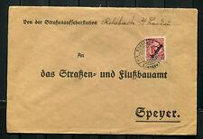 Brief  Rohrbach   Straßenaufseherstation      (U)