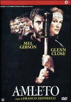 Dvd **AMLETO** di Franco Zeffirelli con Mel Gibson nuovo 1990