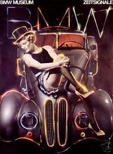 BMW 328/Dietrich/Poster/Classic 1977 original print