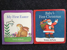 4 Tomie dePaola Books My First Easter Baby's Christmas Strega Nona 3 Wise Kings