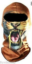 Snarl BALACLAVA Nylon Mask for Motorcycle snow skiing bicyclist ATV or Hunting