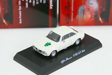 Kyosho 1/64 Alfa Romeo 1750 Gt Am White Mark Minicar Collection 3 2013 Limited