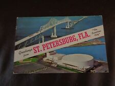 Vintage Souvenir Postcard Booklet of St. Petersburg, Florida (Cat.#6B023)