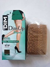 DIM UP BEAUTY VOILE EXTRA TRANSPARENT 15 DEN TAILLE 2 COLORI AMBRE