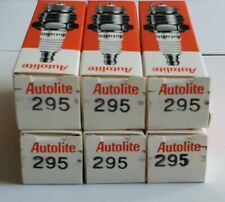 NOS Autolite 295 Spark Plug Set of (6) Copper Non-Resistor Spark Plugs
